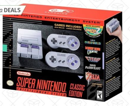 Amazon Has SNES Classics In Stock, If You Still Need One