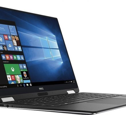 "Dell XPS 9365 Convertible 13.3"" Full-HD i7/16GB/512GB SSD/Win 10 Pro"