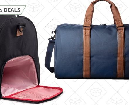 Head Out For the Weekend With These Discounted Herschel Supply Duffels