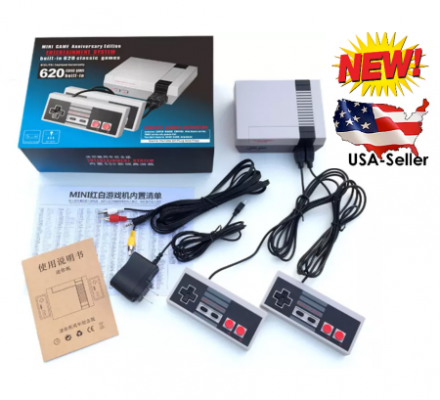 NES Classic Style Entertainment System Classic Edition Mini Console 620 Built-in Classic Games