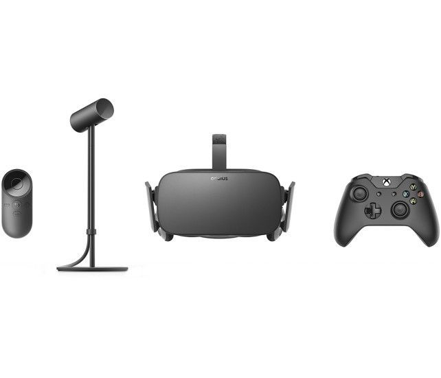 10be3a43dda0 NEW Oculus - Rift Virtual Reality Headset with Lucky s Tale Game VR +  Controller