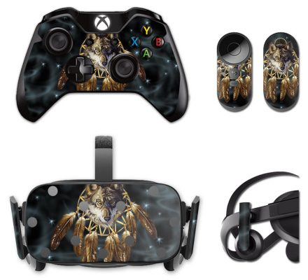 Skin Decal Wolf Dreams Oculus Rift CV1 Resistant Scratching Free Shipping