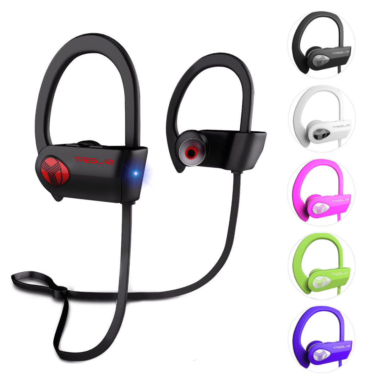 Wireless bluetooth headphones treblab - wireless headphones sports bluetooth