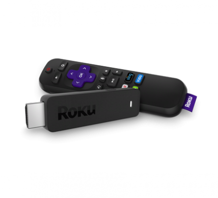Roku Streaming Stick HD-NEW 1-month free trials of SHOWTIME, CBS All Access and fubo TV!