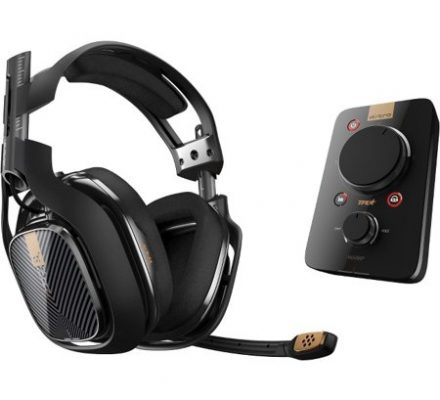 ASTRO Gaming A40 TR Gaming Headset for Xbox One PS4 PC - Black