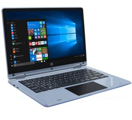"""Teqnio ELL1103T 11.6"""" Laptop, Touchscreen, 2-in-1, Windows 10 Home, Intel Cherrytrail Z8350 Processor, 2GB RAM, 32GB Flash Drive"""