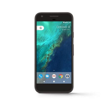 "Google Pixel 128GB 5"" LTE Verizon + GSM Unlocked Android Smartphone Quite Black"