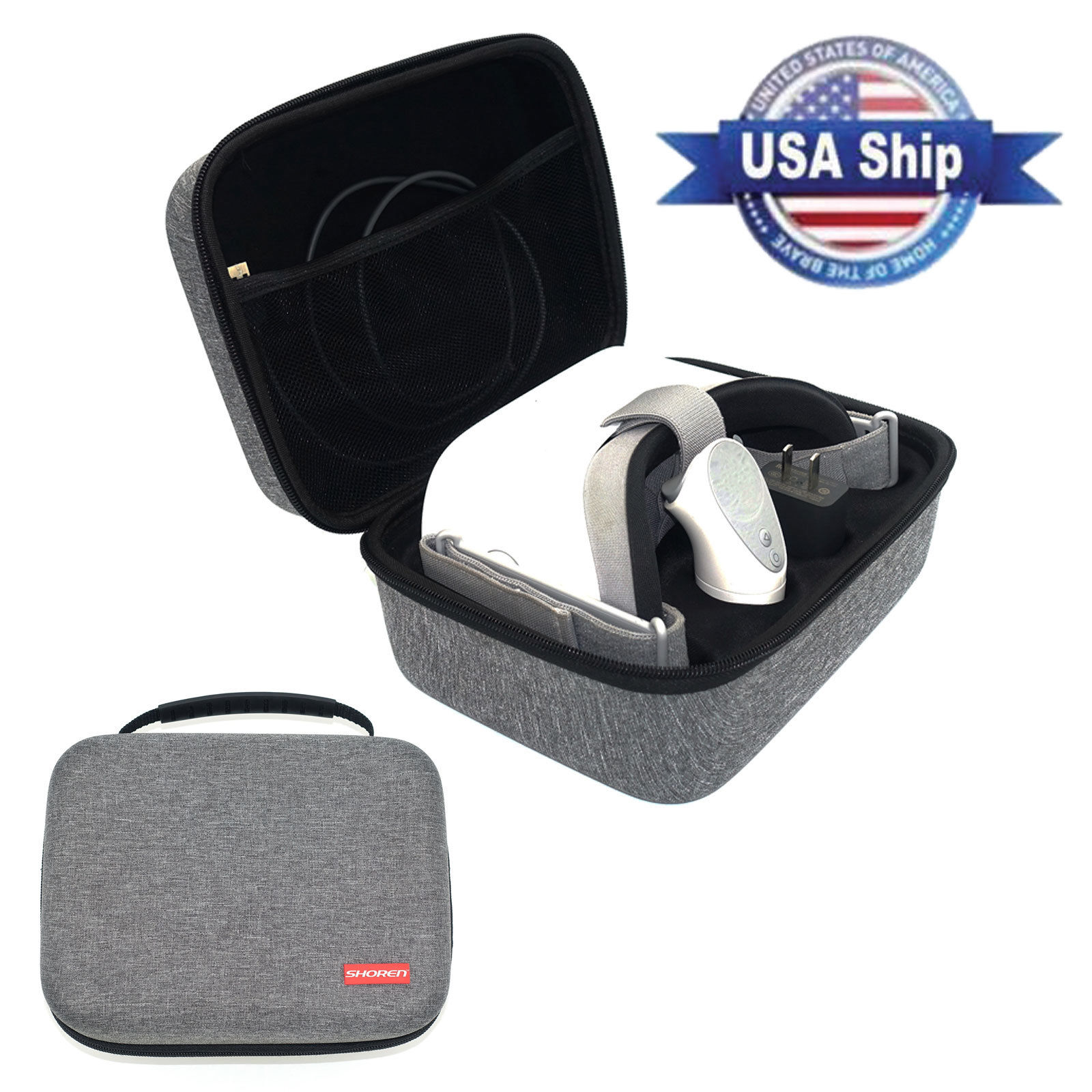 Hard Storage Case Travel Carrying Bag Box For Oculus Go VR Headset