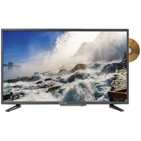 """Sceptre 32"""" Class HD (720P) LED TV (E325BD-SR) with Built-in DVD Player"""