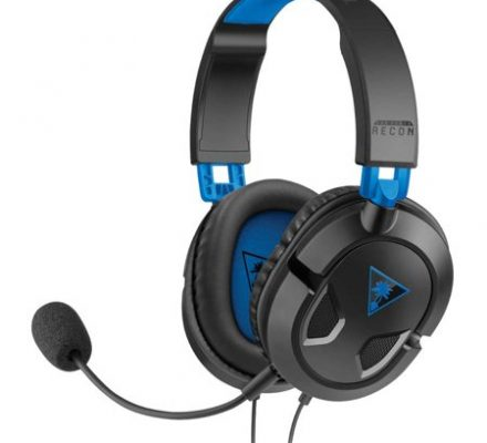 Turtle Beach Recon 50P Gaming Headset, Black (PS4 / Xbox One / PC / Mobile)