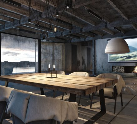 Anyone Can Find a Piece of Solace in an Industrial Home Design