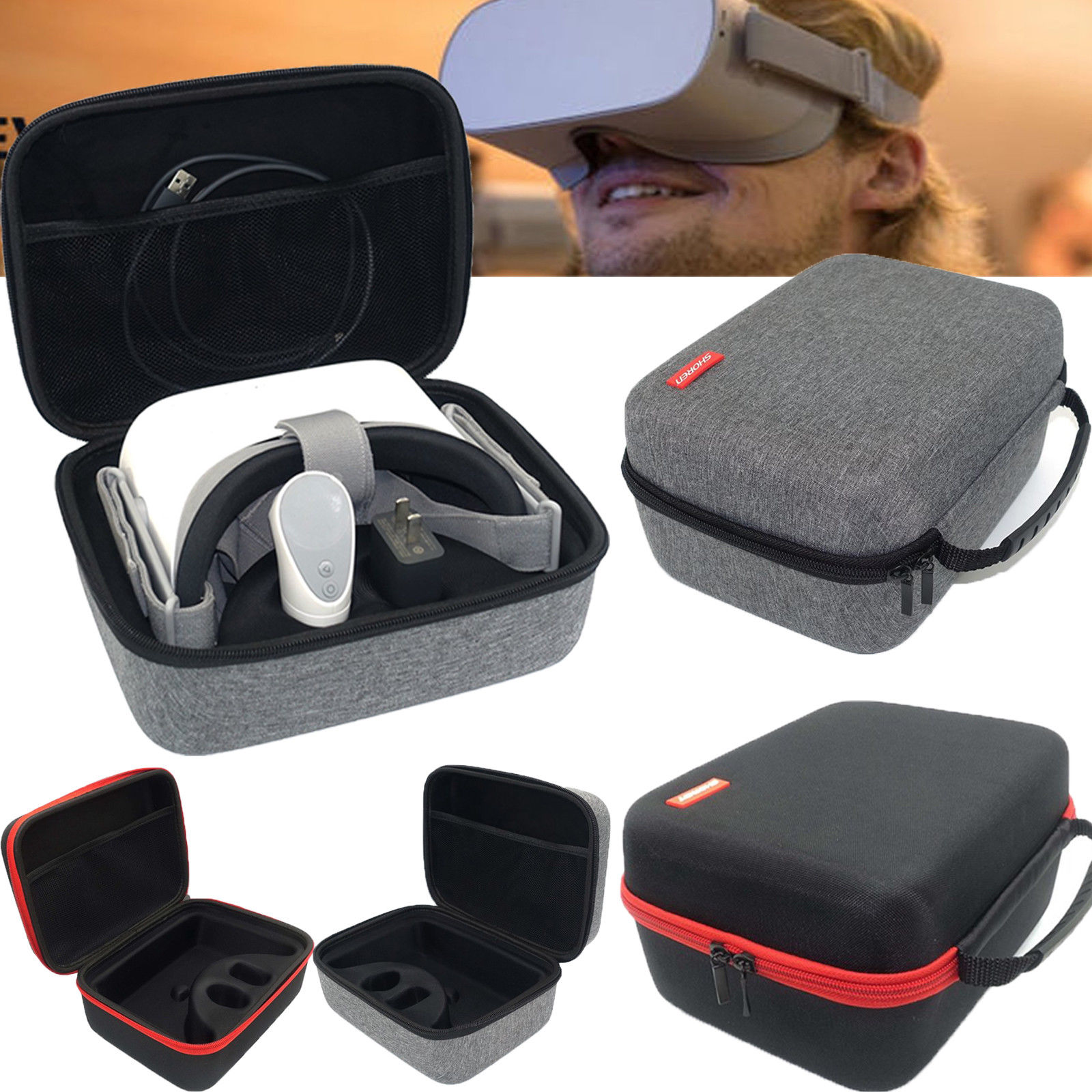 Hard Storage Case Box Carrying Travel Bag For Oculus Go VR Headset