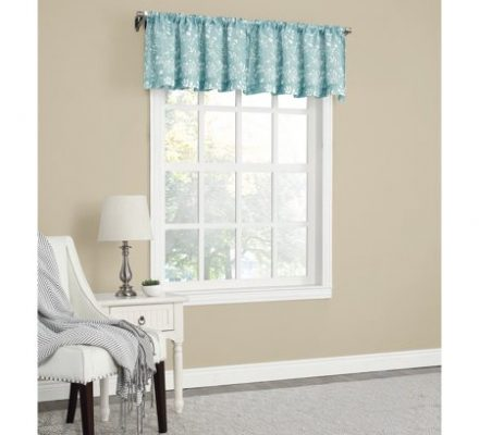 Mainstays Textured Solid Curtain Valance