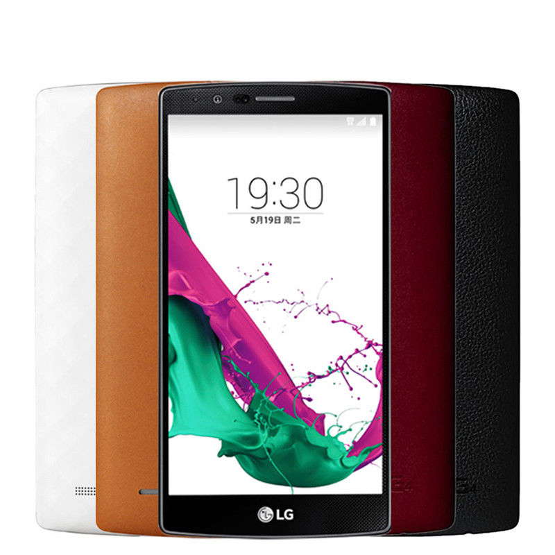 """New Unlocked LG G4 H810 (AT&T) 32GB 4G LTE 5.5"""" 16MP GSM Smartphone"""